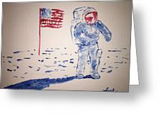 Neil Armstrong Greeting Card