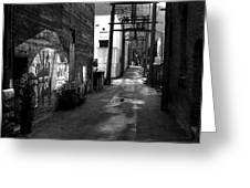 Nelson Bc Alley Greeting Card