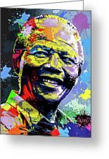 Nelson Mandela Madiba Greeting Card