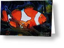 Nemo's Marlin Greeting Card