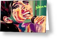 Nena Greeting Card