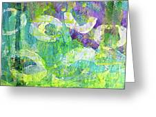 Nenuphars   Greeting Card