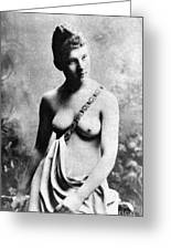 Neoclassical Nude Greeting Card