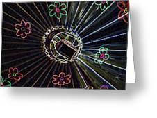 Neon Balloon Greeting Card