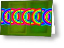 Neon Chain Greeting Card