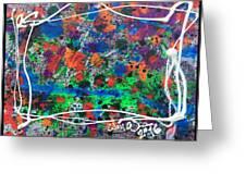 Neon Gumbo Greeting Card