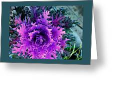 Neon Purple Greeting Card
