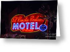 Neon Sign Greeting Card