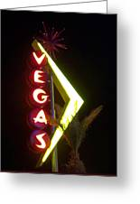 Neon Signs 2 Greeting Card
