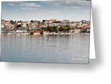 Neos Marmaras Greece Summer Vacation Greeting Card