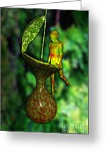 Nepenthes Pixi 2 Greeting Card