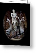 Neptune On Guard Greeting Card