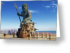 Neptune Virgina Beach  Greeting Card