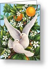 Neroli - Harmonious Partnership Greeting Card
