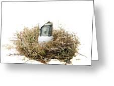 Nest Egg Greeting Card