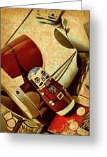 Nest Of Russian Dolls Greeting Card
