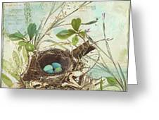 Nesting I Greeting Card