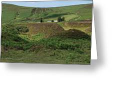 Nestled In The Valley Greeting Card