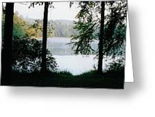 Nestling Lake Greeting Card