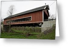 Netcher Road Covered Bridge 2 Greeting Card