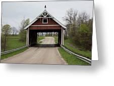 Netcher Road Covered Bridge Greeting Card