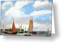 Netherland's Harbour Greeting Card