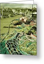 Nets N Ropes  Greeting Card