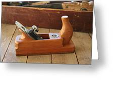 Neuenfeld Wood Plane Greeting Card