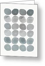 Neutral Stones- Art By Linda Woods Greeting Card