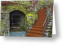 Nevada City Cave Greeting Card