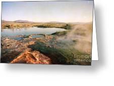 Nevada Hotspring Greeting Card