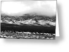 Nevada Snow Greeting Card