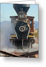 Eureka Palisade Railroad Greeting Card