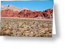 Nevada's Red Rocks Greeting Card