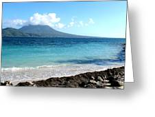 Nevis Across The Channel Greeting Card