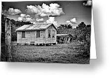 New And Old House Greeting Card