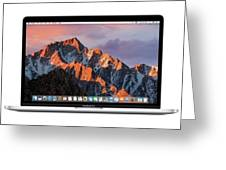 New Apple Macbook Pro Greeting Card