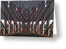 New Architectural Designs Greeting Card