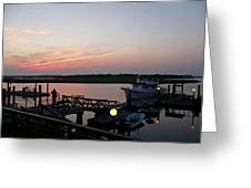 New Bern Reverie Greeting Card by Gina Harrison