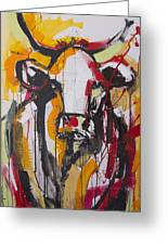 New Breed Cow 3 Greeting Card