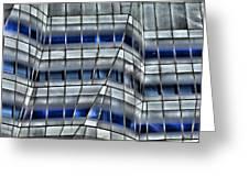 New Building Manhattan Greeting Card