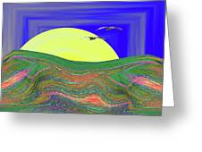 New Day Dawning Greeting Card