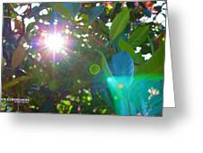 New Earth Vibe #9 Greeting Card