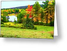 New England - Norman Rockwell Museum - Housatonic River Area Greeting Card