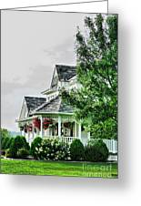 New England Beauty Greeting Card