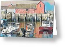 Rockport, Massachusetts Greeting Card