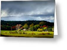 New England Countryside  Greeting Card