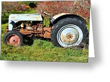 New England Ford Greeting Card