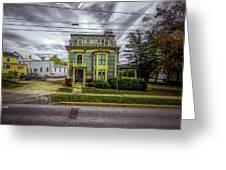 New England Home 3  Greeting Card