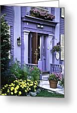New England Inn Greeting Card
